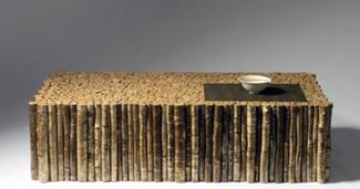 Birch Stick Coffee Table